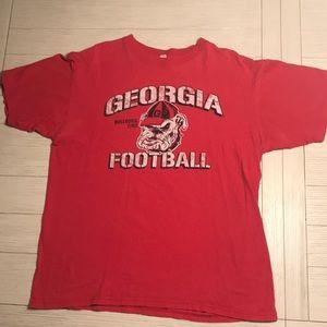 Vintage UGA University of Georgia T-shirt Bulldogs